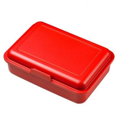 Vorratsdose School-Box trend-rot  OHNE Abtrennung