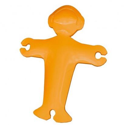 Kabelhalter Deejay, trend-orange