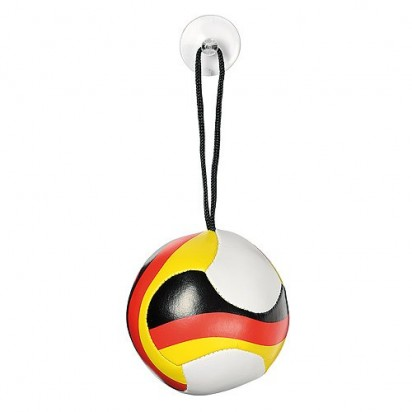 Softball Nations groß, weiß/schwarz/rot/gelb