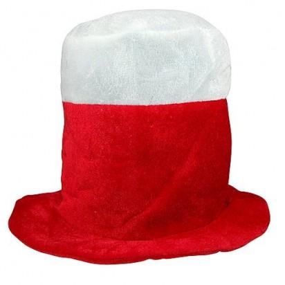 Fanhut Polen, weiß/rot