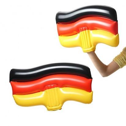Aufblasbare Winkeflagge Deutschland