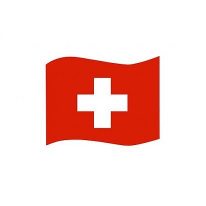 Automagnet Flagge klein, Schweiz