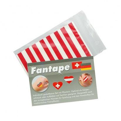 Fantape Rechteck 8er-Set, Österreich im Beutel+Einleger