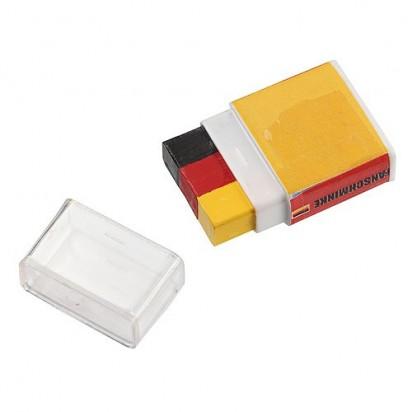 Fanschminke Nations 2.0, schwarz/rot/gelb