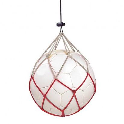 Fußballnetz Polen, weiß/rot