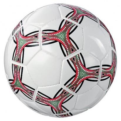 Fußball Winner, weiß, mit rot/grünem Muster