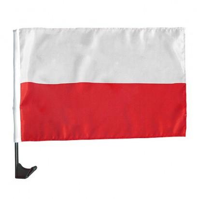 Autofahne Nationalflagge, weiß/rot, Polen
