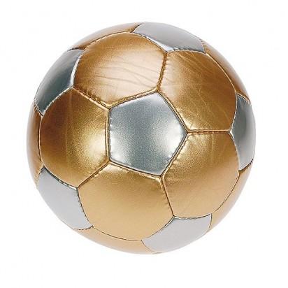 Fußball Golden Goal, gold/silber, Gr.5