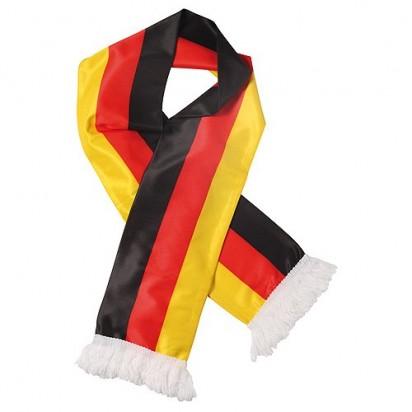 Schal Nations Deutschland, schwarz/rot/gelb