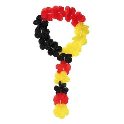 Stirnband Laola, schwarz/rot/gelb