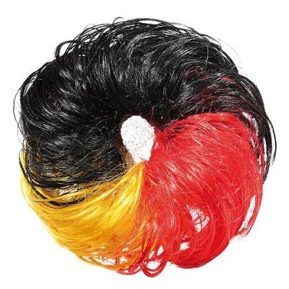 Haargummi Nations, schwarz/rot/gelb