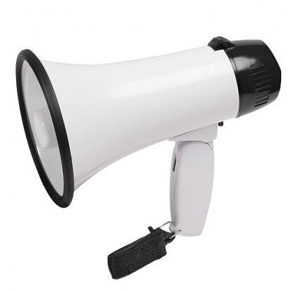 Megaphon Noisy, weiß/schwarz