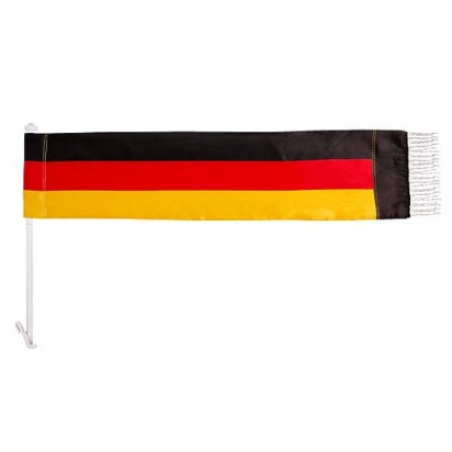 Autofahne Scarf Deutschland, schwarz/rot/gelb