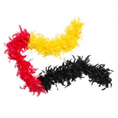 Federboa Deutschland Version 1, schwarz/rot/gelb