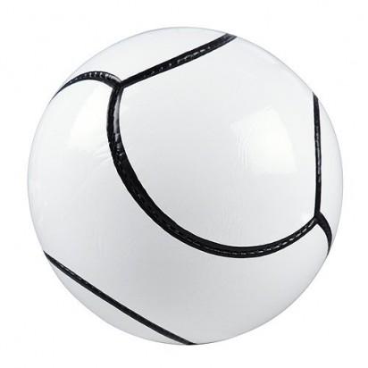 Fußball Topstar, schwarz/weiß, unaufgeblasen