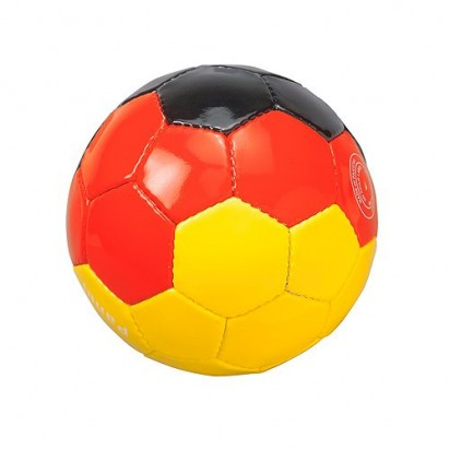 Fußball Deutschland groß (maschinengenäht)