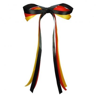 Autoschleife Nations, schwarz/rot/gelb