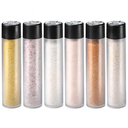 Salz-Set Spicery Six, transparent