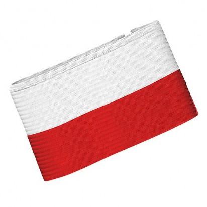 Spielführerbinde Nations - Polen, rot/weiß