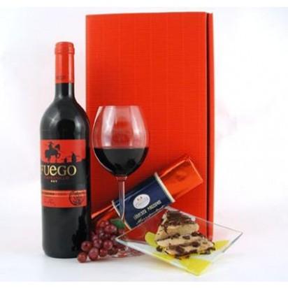 Rotwein und Marzipan