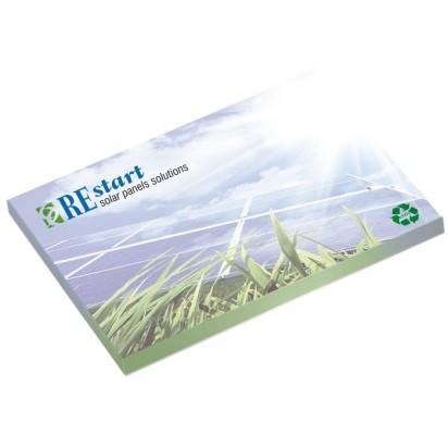 101mm x 75 mm 50 Blatt Recycled Adhesive Notepads