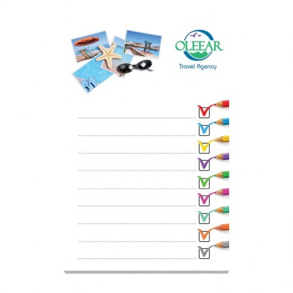 101mm x 152 mm 50 Blatt Adhesive Notepads