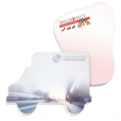 101mm x 75 mm 25 Blatt Adhesive Die Cut Notepads