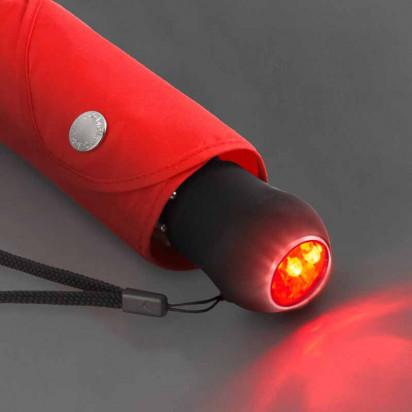 Safebrella ® LED Mini Taschenschirm