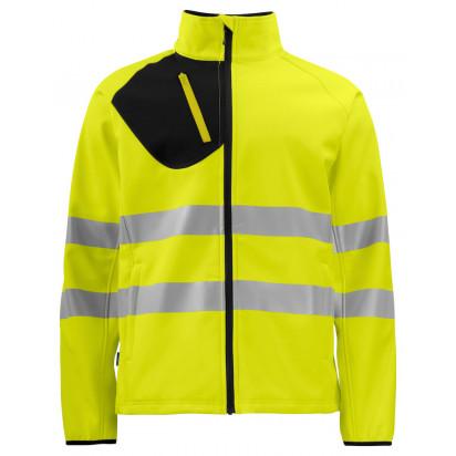 Leichte Softshell Jacke EN ISO 20471 KLASSE 3