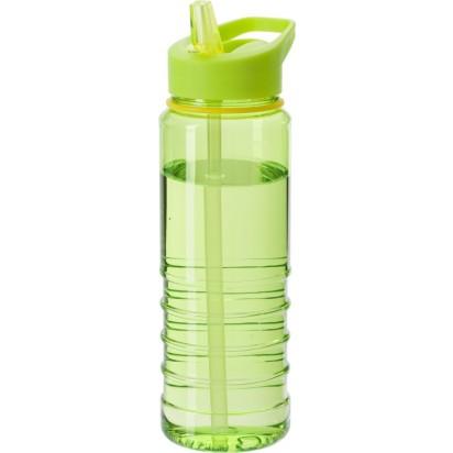 Wasserflasche Straw aus transparentem Kunststoff 700 ml