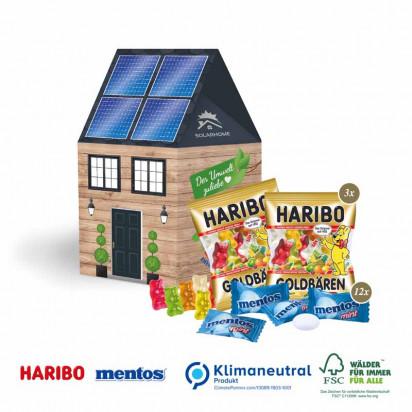 3D Haus Transporter Haribo + Mentos, Klimaneutral, FSC®