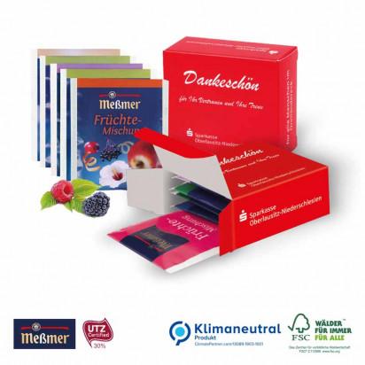 Premium-Tee in der Werbebox, Klimaneutral, FSC®
