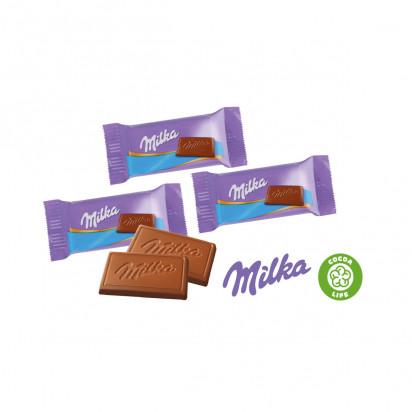 Milka Weihnachtskalender.Tisch Adventskalender Mit Milka Schokolade Klimaneutral Fsc Zertifiziert