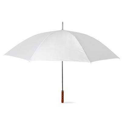 Regenschirm mit Holzgriff