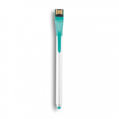 Point | 01 Tech Stift - Schreiber & USB, türkis