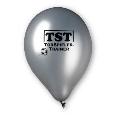 Luftballon Metallic incl. Werbedruck zweiseitig