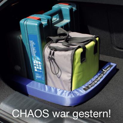 Kofferraum Gepäckfixierung individuell bedruckbar