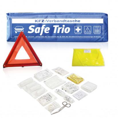 Kfz-Verbandstasche Safe Trio mit Standardmotiv