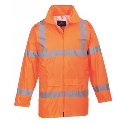 Warnschutz Regenjacke EN ISO 20471 Klasse 3 EN 343 Klasse 3:1