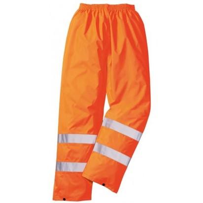 Warnschutzregenhose EN ISO 20471:2013 Klasse 1 EN 343 Klasse 3:1-orange