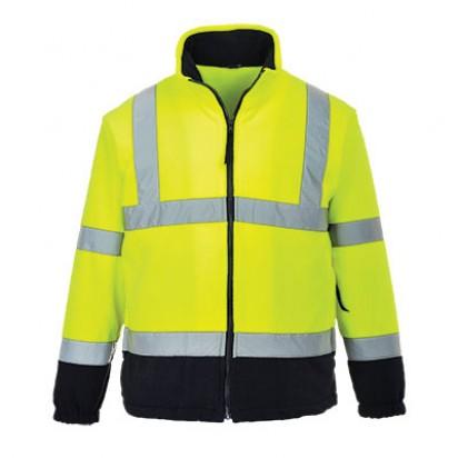2fbg Warnschutz Fleece Jacke