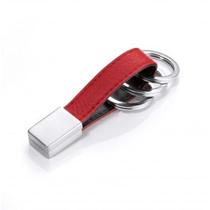 TROIKA Schlüsselanhänger TWISTER RED