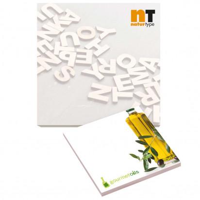 101mm x 101mm 100 Blatt Recycled Adhesive Notepads