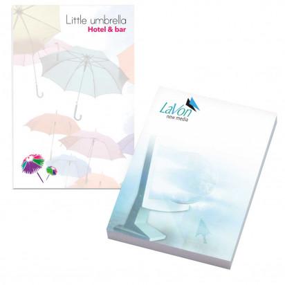 50 mm x 75 mm 100 Blatt Adhesive Notepads