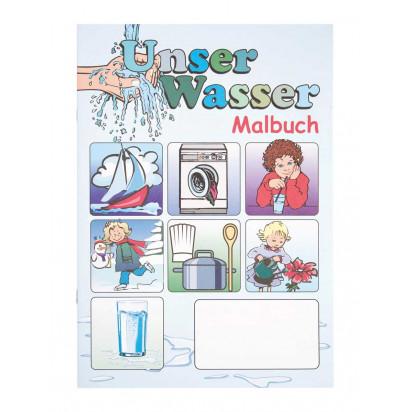 """Malbuch """"Unser Wasser"""""""