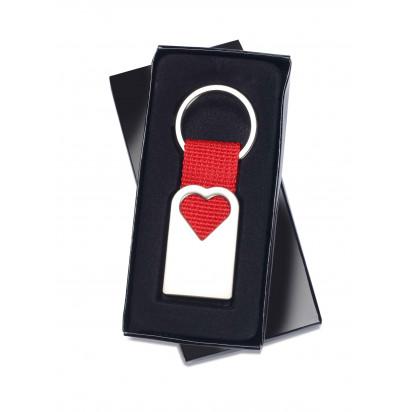 Geschenkpackung Schlüsselanhänger Herzform
