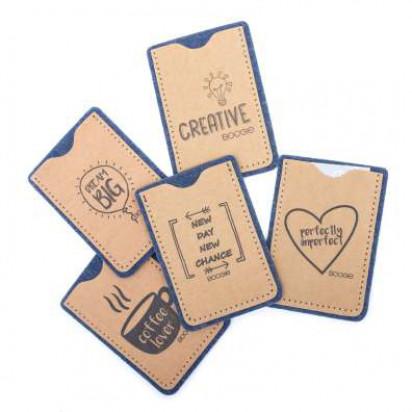 Papp+ Visitenkartenhülle hoch washable paper/Recyclingfilz