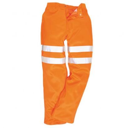 Warnschutz Hose aus Polyester Baumwolle GO/RT
