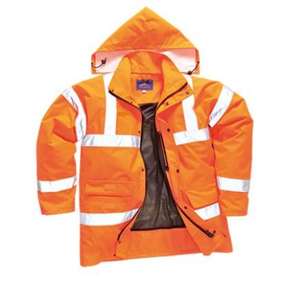 Atmungsaktive Warnschutzjacke Klasse 3