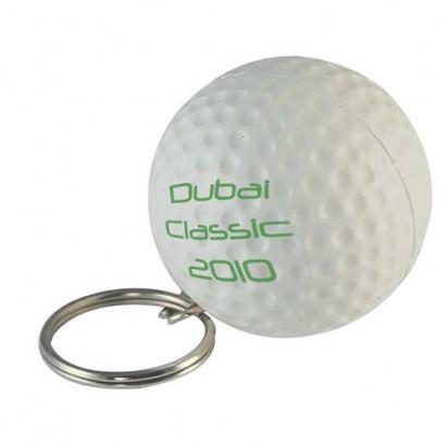 Golfball Keyring